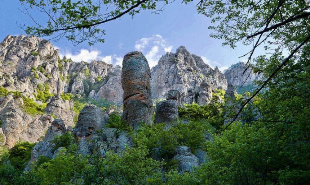 гора демерджи фото долины
